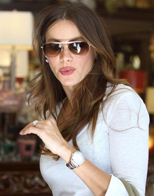 Sofia Vergara - Shopping in West Hollywood - July 30, 2012