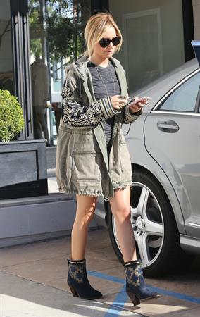 Ashley Tisdale out shopping in Beverly Hills 12/13/12