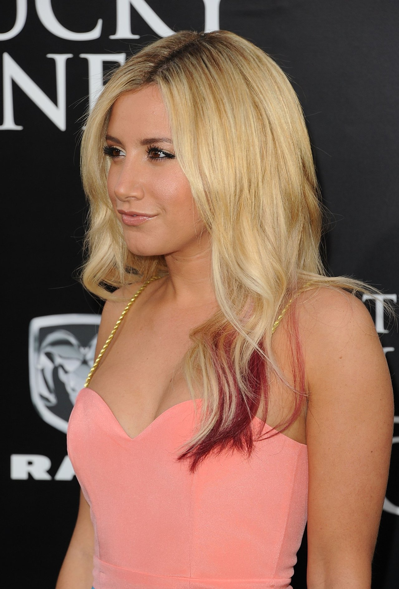 Ashley Tisdale the Lucky One premiere in Los Angeles on April 16, 2012