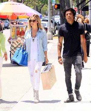 Ashley Tisdale Shopping In West Hollywood 5/30/12