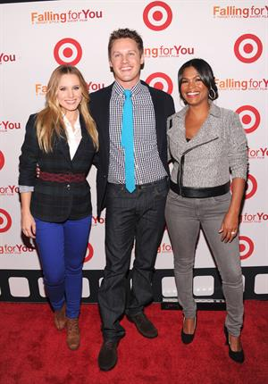 Kristen Bell Target 'Falling for You' Event in New York City on October 10, 2012