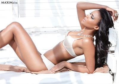 Leila Lopes in a bikini
