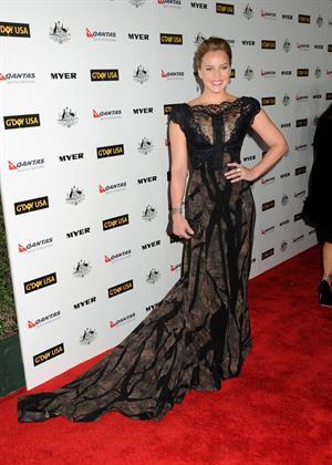 Abbie Cornish GDay USA Black Tie Gala at Hollywood Palladium on January 22, 2011