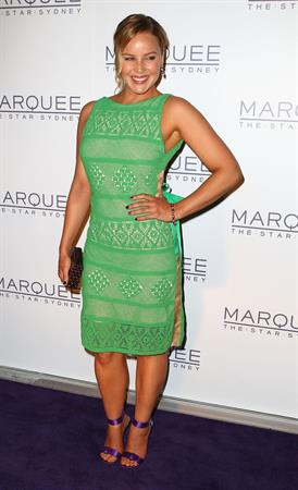 Abbie Cornish Marquee at the Star opening in Sydney on March 30, 2012