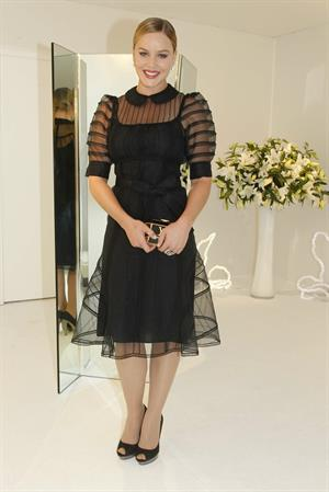 Abbie Cornish Louis Vuitton ready to wear spring summer 2012 show Paris 05.10.11