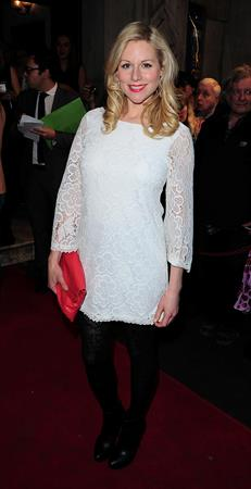 Abi Titmuss Wyndhams Theatre press Night for the Kings Speech on March 27, 2012