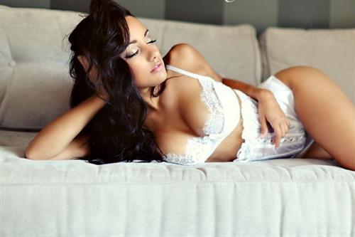 Brittney Alger in lingerie