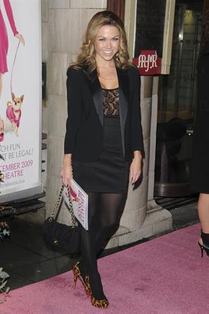 Adele Silva Legally Blonde gala performance London January 13, 2010