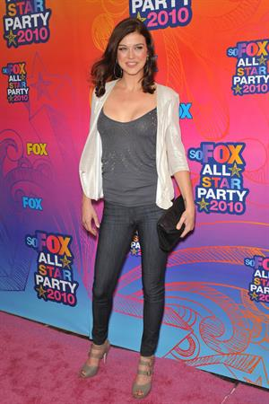 Adrianne Palicki Fox 2010 Summer Television Critics Association All Star Party on August 2, 2010