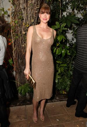 Adrianne Palicki Audi celebrates the King's Speech Awards Season Party on January 7, 2011
