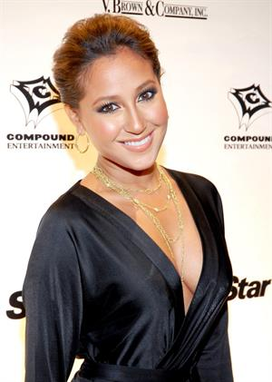 Adrienne Bailon Ne-Yo's 30th birthday party held at Cipariani's in New York City