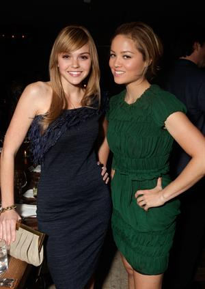 Aimee Teegarden Elle Women in Television event at Soho house on January 27, 2011