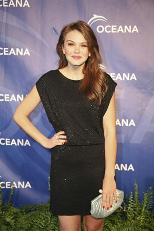 Aimee Teegarden annual Oceana Seachange Summer party at Villa di Songi 01.10.11
