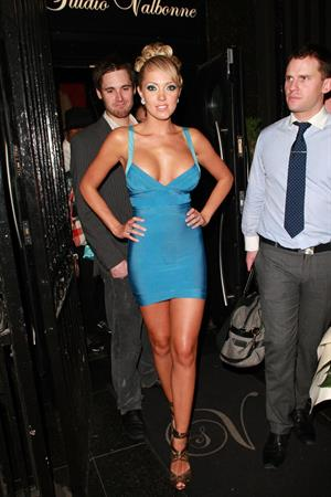 Aisleyne Wallace at her book launch party studio Valbonne in London, England