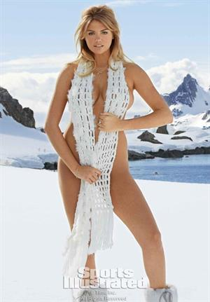 Sports Illustrated 2013 Swimsuit Edition.  Kate Upton in Antarctica