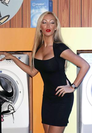 Aisleyne Horgan Wallace Indesit Laundrette party 14 10 10