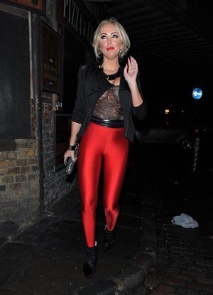 Aisleyne Horgan-Wallace - Lipsy London Love launch Party November 6, 2012