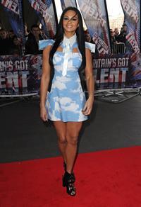 Alesha Dixon - arriving at Britain's Got Talent studios - London March 22, 2012