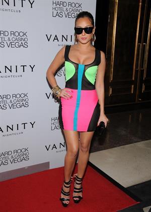 Adrienne Bailon 28th birthday party in Las Vegas on November 11, 2011