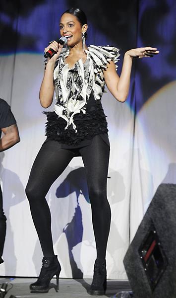Alesha Dixon - Jingle Bell Ball - Manchester - 1st Dec 2010