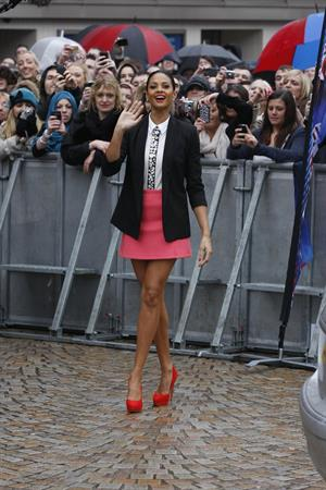 Alesha Dixon - Britains Got Talent Auditions - Jan 24, 2012
