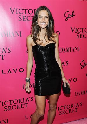 Alessandra Ambrosio attends the Victoria's Secret Fashion Show after party in 2010