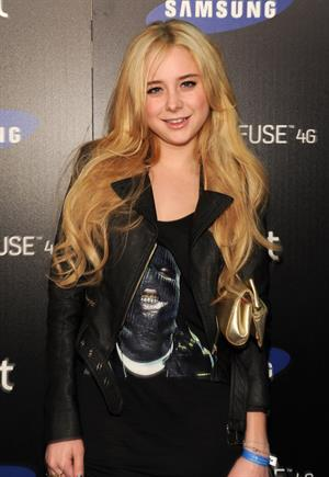 Alessandra Torresani attends the Samsung Infuse 4G launch party in Hollywood on May 12, 2011