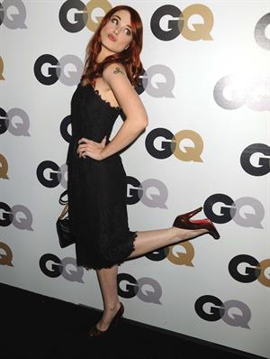 Alexandra Breckenridge 16th annual GQ Men of the Year party on November 17, 2011