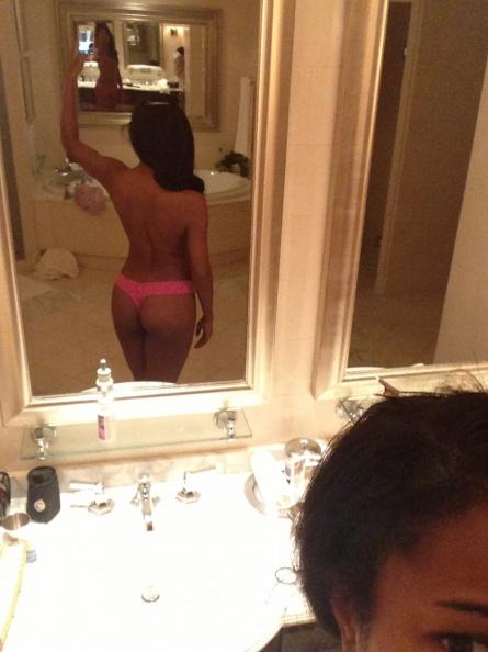Gabrielle Union in lingerie - ass