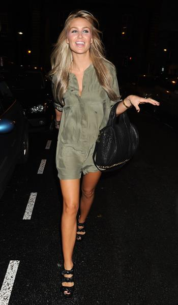 Alex Curran - Night in Liverpool - October 1, 2011