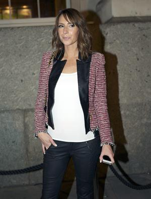 Alex Jones - London Fashion Week - September 14, 2012