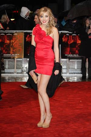 Alice Barlow Red premiere in London on October 19, 2010