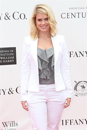 Alice Eve attends Royal Salute at Foundation Polo Challenge in Los Angeles on July 9, 2011