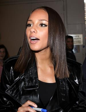 Alicia Keys - It's On with Alexa Chung in New York City