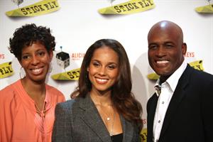 Alicia Keys attends the Stick Fly on Broadway's cast and Creative photocall 20.10.11