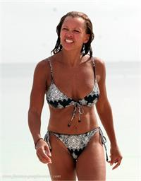 Vanessa Williams in a bikini