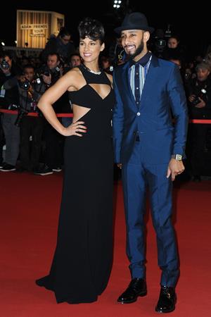 Alicia Keys NRJ Music Awards 2013 in Cannes 1/26/13