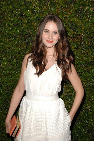 Alison Brie Chloe Los Angeles Fashion Show & Dinner on Oct 29, 2013