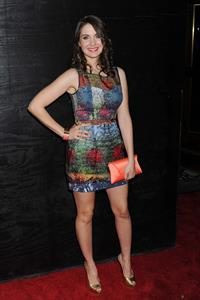 Alison Brie attends The Decision premiere at Lavo in New York on March 22, 2011