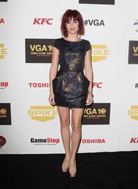 Alison Haislip attending Spike TV's 10th Annual Video Game Awards, Dec 7, 2012