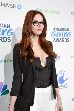 Alyssa Campanella American Giving Awards in Pasadena 12/7/12