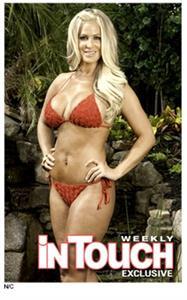 Kim Zolciak-Biermann in a bikini