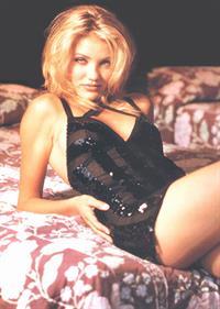 Cameron Diaz in lingerie