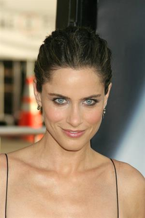 Amanda Peet the X Files I Want to Believe world premiere in Hollywood