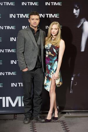 Amanda Seyfried at In Time photocall in Madrid Spain on November 3, 2011