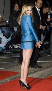 Amanda Seyfried In Time UK premiere in London on October 31, 2011