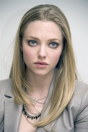 Amanda Seyfried Gone press conference portraits by Vera Anderson in Beverly Hills on February 10, 2012
