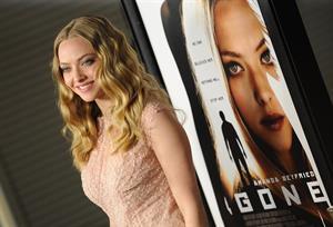 Amanda Seyfried Gone premiere in Los Angeles on February 21, 2012