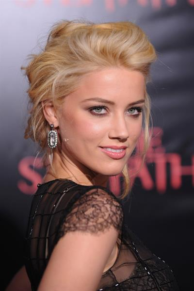 Amber Heard the Stepfather New York premiere