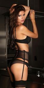 April Rose in lingerie